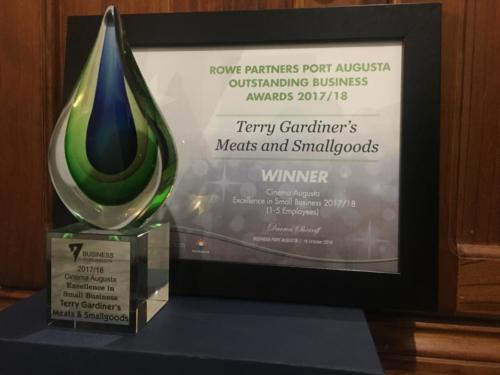 terr-gardiners-meats-and-smallgoods-port-augusta-business-awards-winners-2018